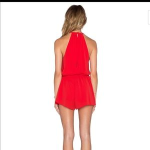 f9803a42474c SAYLOR Other - SAYLOR X REVOLVE red romper